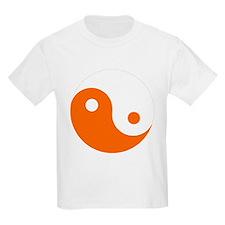 Yin-Yang Orange T-Shirt