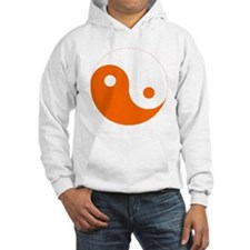 Yin-Yang Orange Hoodie