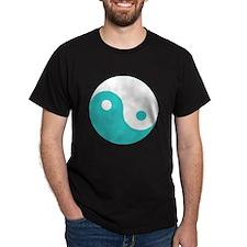 Yin-Yang Teal T-Shirt
