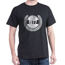 Vintage 1977 Aged To Perfection T-Shirt