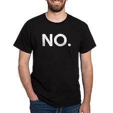 No - Ultimate Disambiguation White T-Shirt