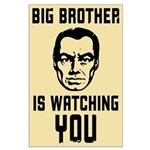 BIG BROTHER Is Watching YOU - Large Poster