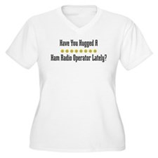 Hugged Ham Radio Operator T-Shirt