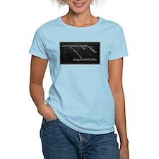 Women's Pink Diagrammed Sentence T-Shirt