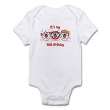 Its my 96th Birthday (Clown) Infant Bodysuit