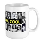Greeks Are Cool! Large Mug