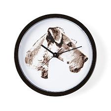 Cool Terrier Wall Clock