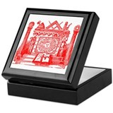 Masonic Jewel Box Keepsake Box