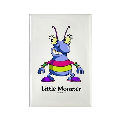 Little Monster Rectangle Magnet