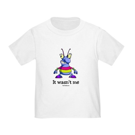 It wasn't me Toddler T-Shirt