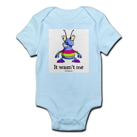 It wasn't me Infant Bodysuit
