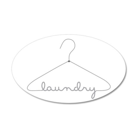 Laundry Hanger Wall Decal