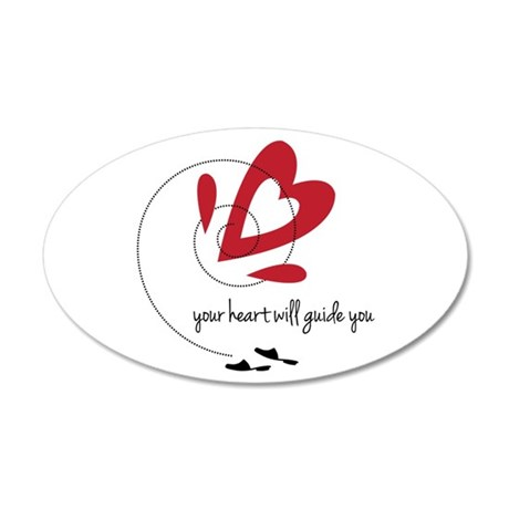 Heart Guide Wall Decal
