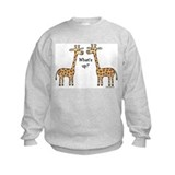 What's up? Giraffe Sweatshirt