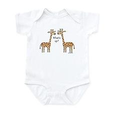 What's up? Giraffe Infant Bodysuit