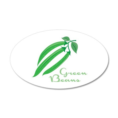 Green Beans Wall Decal