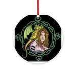 Dragon Handler Ornament (Round)