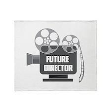 FUTURE DIRECTOR Throw Blanket