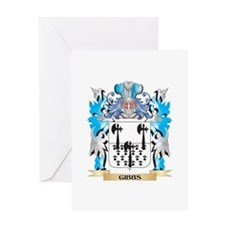Gibbs Coat of Arms - Family Crest Greeting Cards