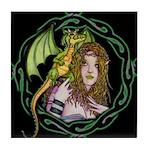 Dragon Handler Tile Coaster