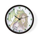 Dragon Handler Wall Clock