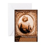Otterhound BUBBA Greeting Cards (Pk of 10)