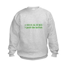 push the button Sweatshirt