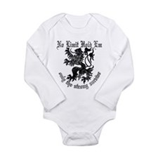 Texas hold Long Sleeve Infant Bodysuit