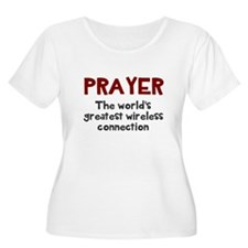 Prayer wirele T-Shirt