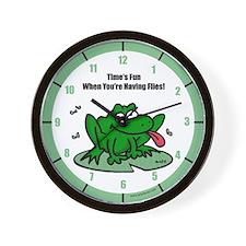 Funny Frog Wall Clock
