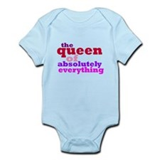 The queen of everything Infant Bodysuit