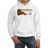 TropiThug'd out hooded Sweatshirt Jungle Lion Logo