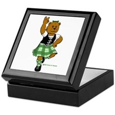 Molly the Highland Dancer Bear Keepsake Box