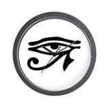 Egyptian Eye Wall Clock