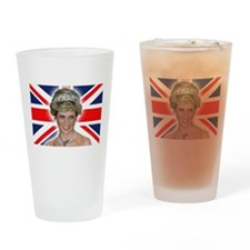 HRH Princess Diana Professional Photo Drinking Gla