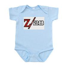 Z28-tee wht Body Suit