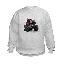 Red Monster Truck Sweatshirt