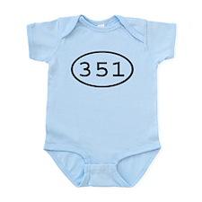 351 Oval Infant Bodysuit