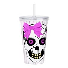 Scull4.png Acrylic Double-wall Tumbler