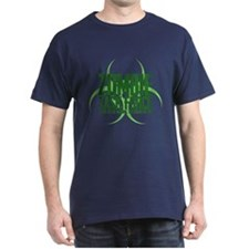 Zombie Task Force Green T-Shirt