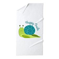 Happy Trails Beach Towel