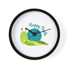 Happy Trails Wall Clock