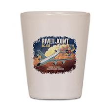 RC-135 Rivet Joint Shot Glass