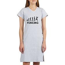 Fencing Evolution Women's Nightshirt