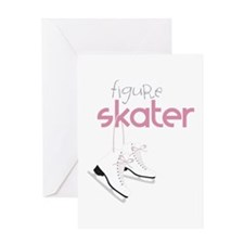 Figure Skater Greeting Cards