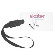 Skater Lands It Luggage Tag