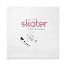 Skater Lands It Queen Duvet