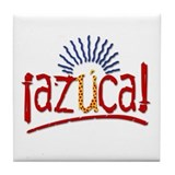 """Azuca!"" Tile Coaster"