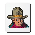 Movie Cowboy #1 Mousepad