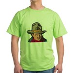 Movie Cowboy #1 Green T-Shirt